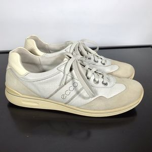 Ecco soft Leather women Sneakers Sz 10/10.5